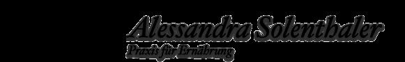 Alessandra Solenthaler - Praxis für Ernährung / Diätetik – Praxis für Ernährung / Diätetik | Schüssler Salz Beratung | Entlastungs-Service und Haushilfe